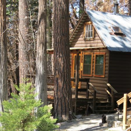 sugar pine cabin exterior picture of sunset inn yosemite
