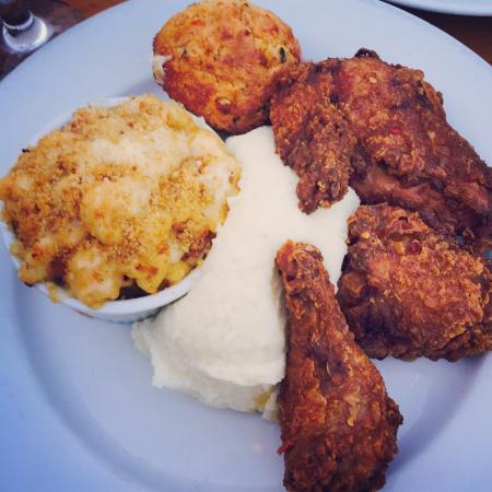 Silk City Diner: Chicken, mash, and Mac