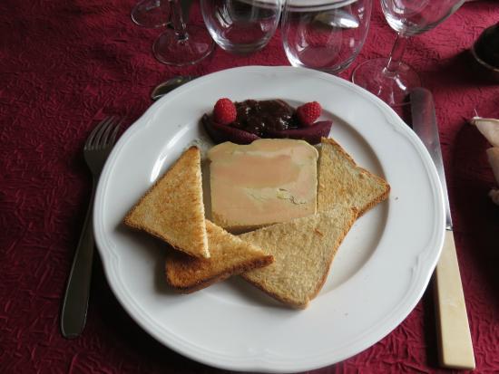 Ferme Auberge du Blaisel: foie gras