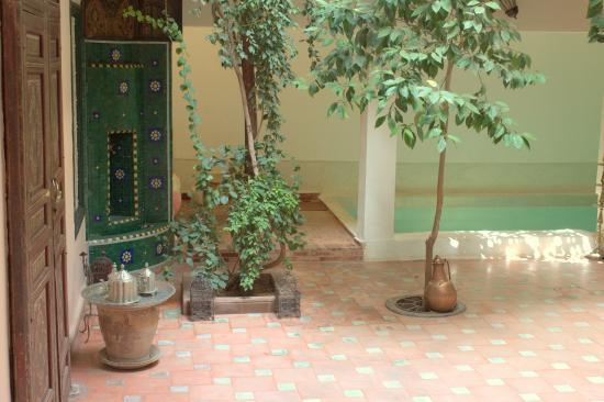 Dar Choumissa: Patio piscine