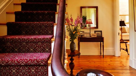 The Egremont Village Inn: The Main Staircase