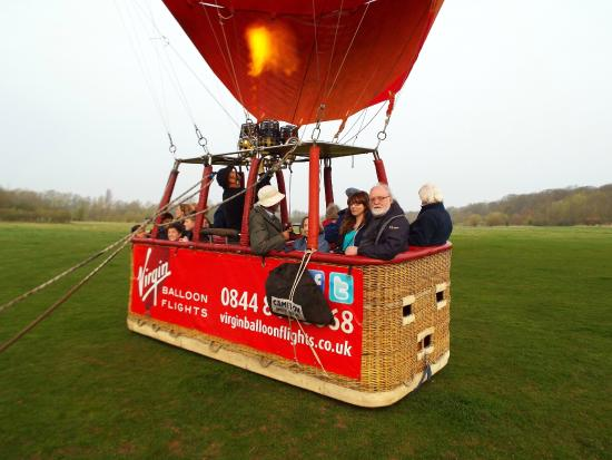Virgin Balloon Flights - Cambridge