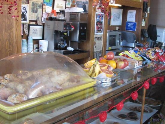 Lakeview Bakery and Deli: An assortment of fresh fruits, and baked goods