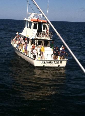 Fishing orange beach picture of fairwater ii charters for Orange beach fishing charters