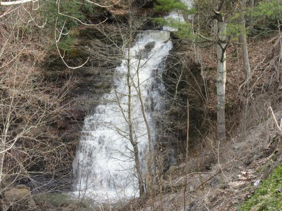 Pipestem State Park: Pipestem Falls