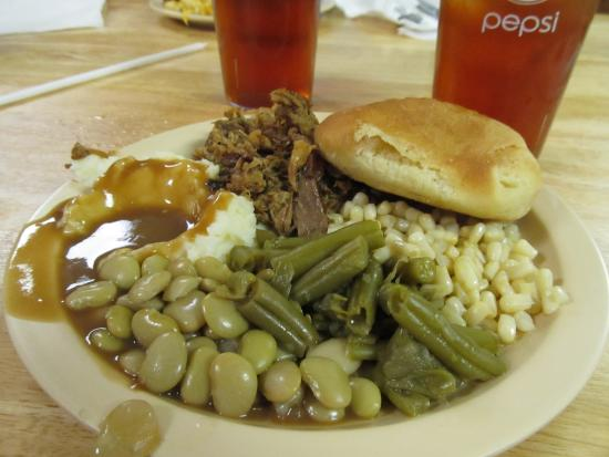 Bessemer City, Carolina del Nord: Southern Style Food