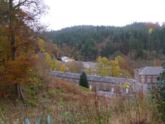 New Lanark World Heritage Village: New Lanark Mill