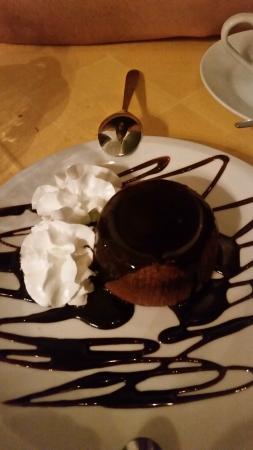 L'Immagine Ristorante Bistrot : Chocolate soufflé