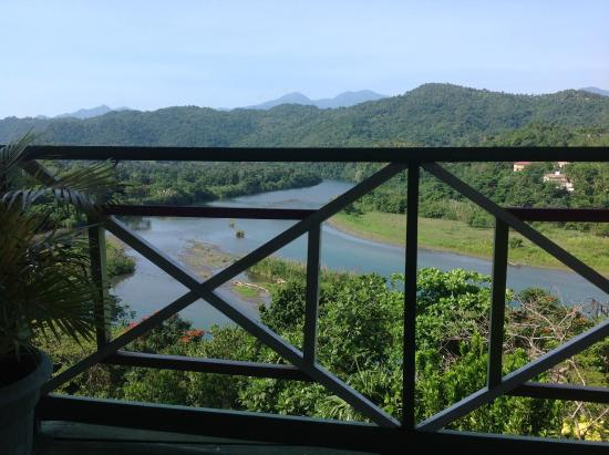 Rio Vista Resort: View from the breakfast/dining area