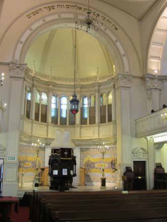 Great Synagogue: Interior