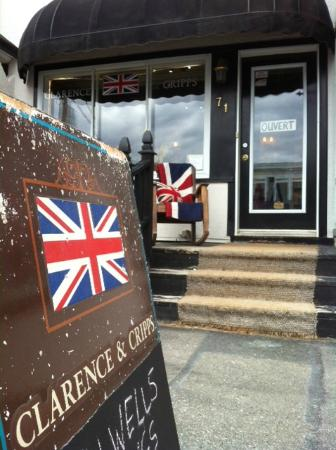 Hudson, Canadá: Clarence & Cripps UK food, gifts and decor.
