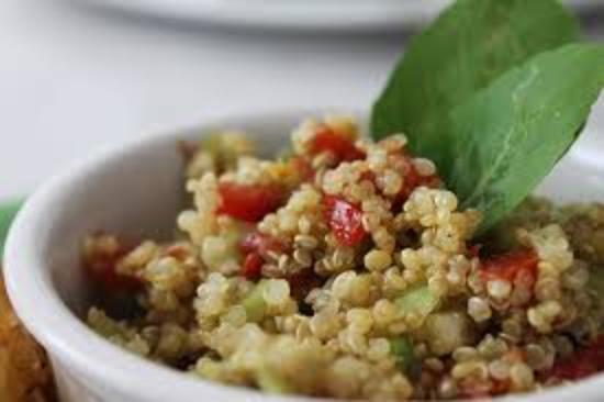 Intihuatana Lounge: quinoa