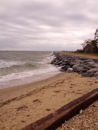 view near Piney Point Lighthouse