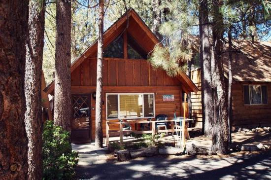 Log haven at bear mountain picture of big bear cool Big bear cabins california