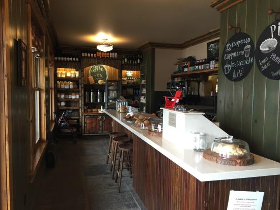ADK Cafe: Cashing out & Coffee Bar