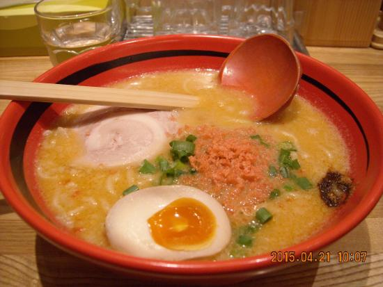 Ebisoba Ichigen Sohonten: 味噌 味わい 細麺 780円