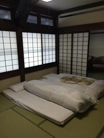 Ryokan Murayama: The bedding