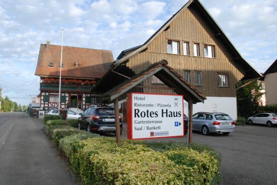 hotel restaurant rotes haus Hotel Restaurant Pizzeria