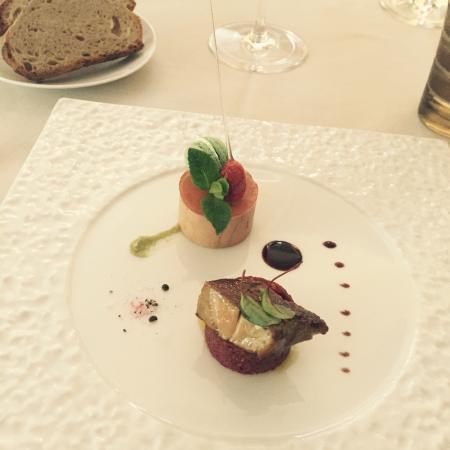 Le foie gras délicieux