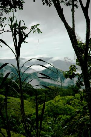 Nicoya, Costa Rica: Clouds settling in the valley