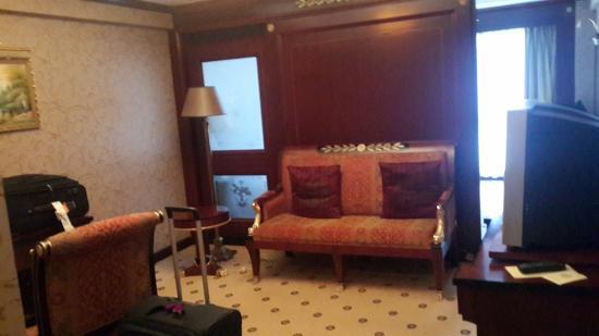 Salvo Hotel Shanghai: Living Room Area