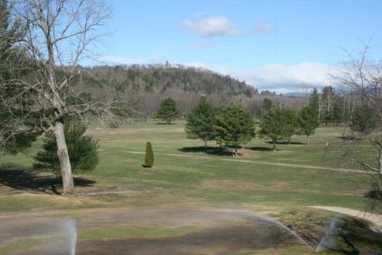 Cold Spring Resort: The View in early spriig of the golf course