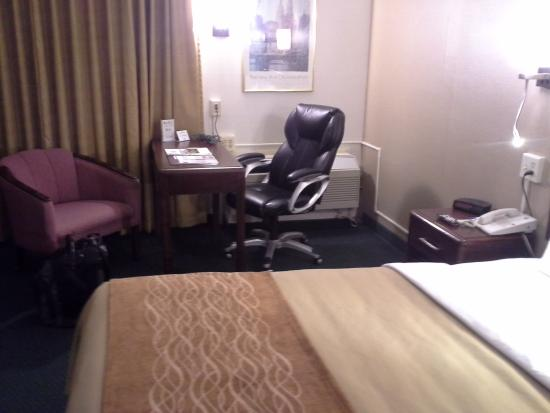 Comfort Inn Middletown: Desk