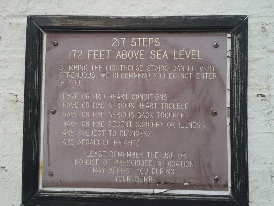 Barnegat Lighthouse State Park: Advisory