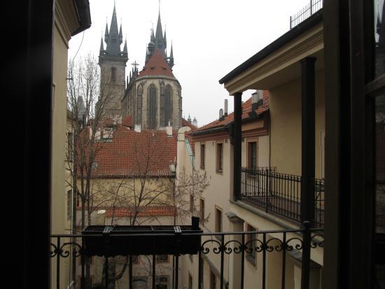 Royal Residence Ungelt: 部屋のベランダからの眺め