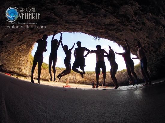 Explora Vallarta: ¡Ah, y te dan fotografías muy bunas de cortesía!