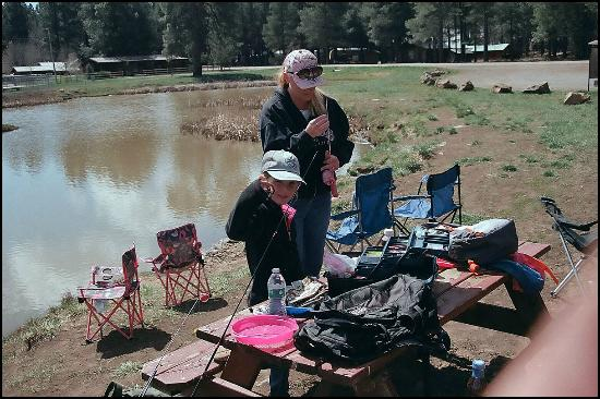 Mormon Lake Lodge and Campground: Let's Go Fishing!