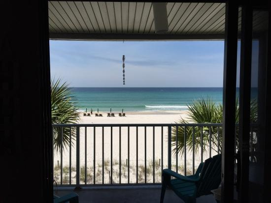 Nautical Watch Gulf Side Villas : View from room B8