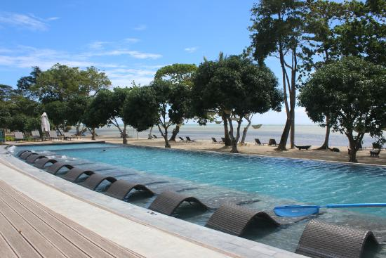 Pool and beach picture of astoria palawan puerto - Hotel in puerto princesa with swimming pool ...