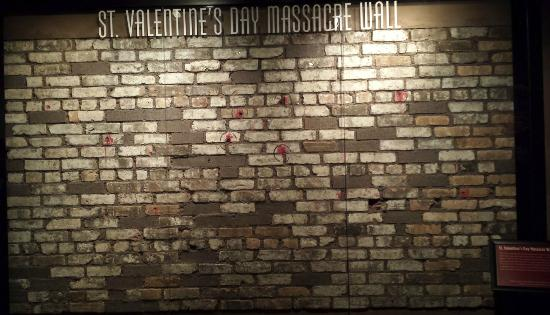 St Valentine S Day Massacre Wall Foto De The Mob Museum Las Vegas