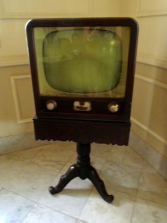 Hostal Silvia: vecchia tv