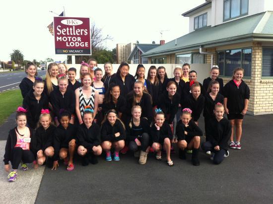 BK's Settlers Motor Lodge: Studio 246 Dance School