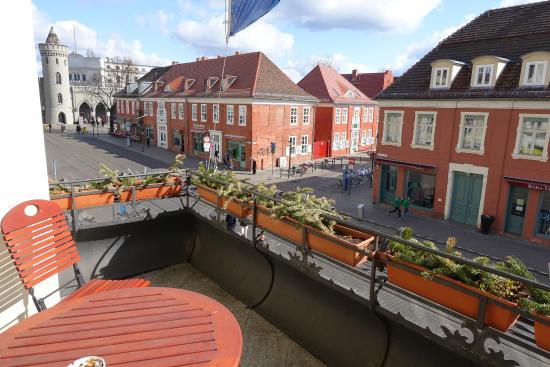 NH Potsdam: Blick vom Balkon