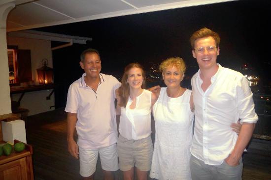 Le Sans Souci Guesthouse: Unsere freundlichen Gastgeber Hugues und Jeanine