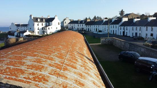 Port Charlotte Youth Hostel : The village from the bedroom window