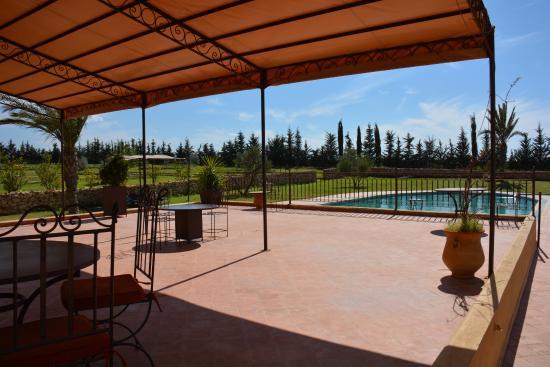 Riad Le Ksar de Fes: terrasse