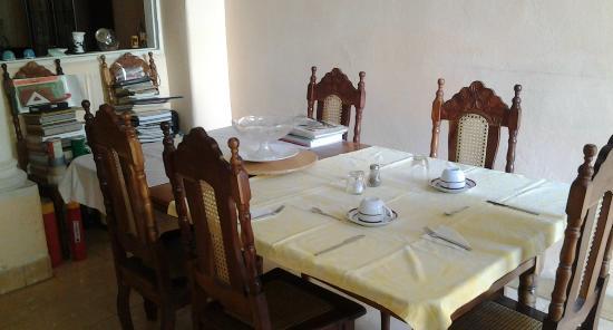 Hostal La Casona: Sala da pranzo