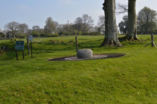 Castlestrange Scribed Stone: Stone