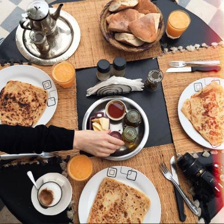 Westcoast: Amazing Traditional Moroccan Breakfast