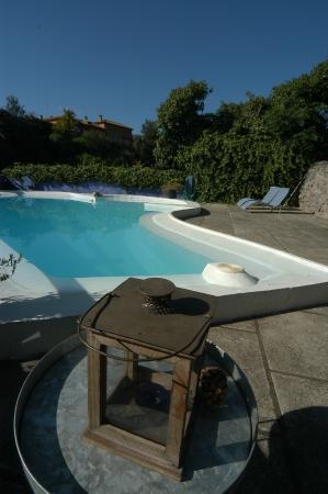 Las Cadenas - La casa de campo: piscina