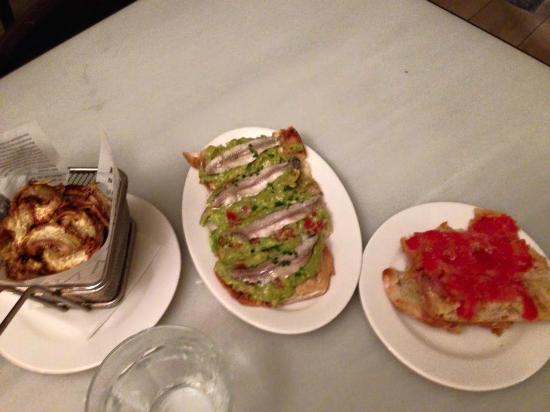 Restaurante Tantarantana: Cena al tantarantana