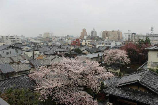Kyoto Brighton Hotel: Vista desde la habitación
