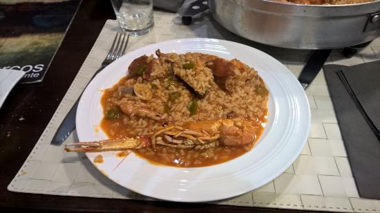 Restaurante Los Arcos : paella de marisco