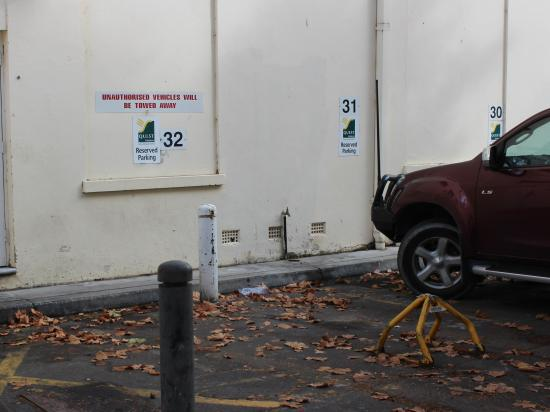 Quest Canberra: Allocated car space