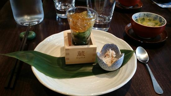 Kura : Chaque plat est une explosion de saveurs.... Pour amateurs éclairés : à ne pas manquer.