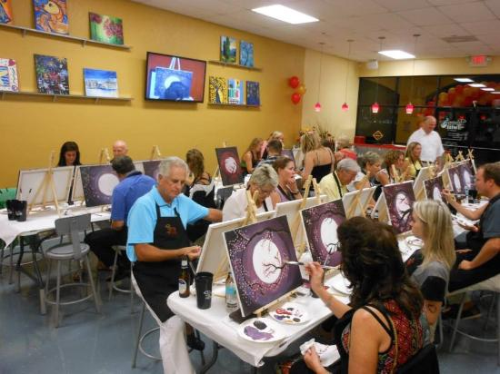 I M Hooked Picture Of Painting With A Twist Naples Tripadvisor